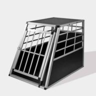 Large Single Door Dog cage 65a 77cm 06-0767 Dog House: Pet Products, Dog Goods Large Single Door Dog cage 65a 77cm