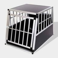 Aluminum Dog cage Large Single Door Dog cage 65a 06-0768 Dog House: Pet Products, Dog Goods Large Single Door Dog cage 65a 65